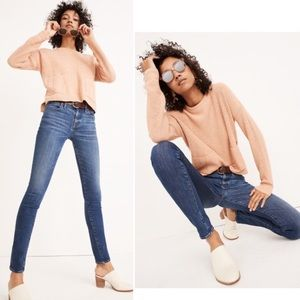 """Madewell 8"""" Skinny Jeans in Ames Wash"""